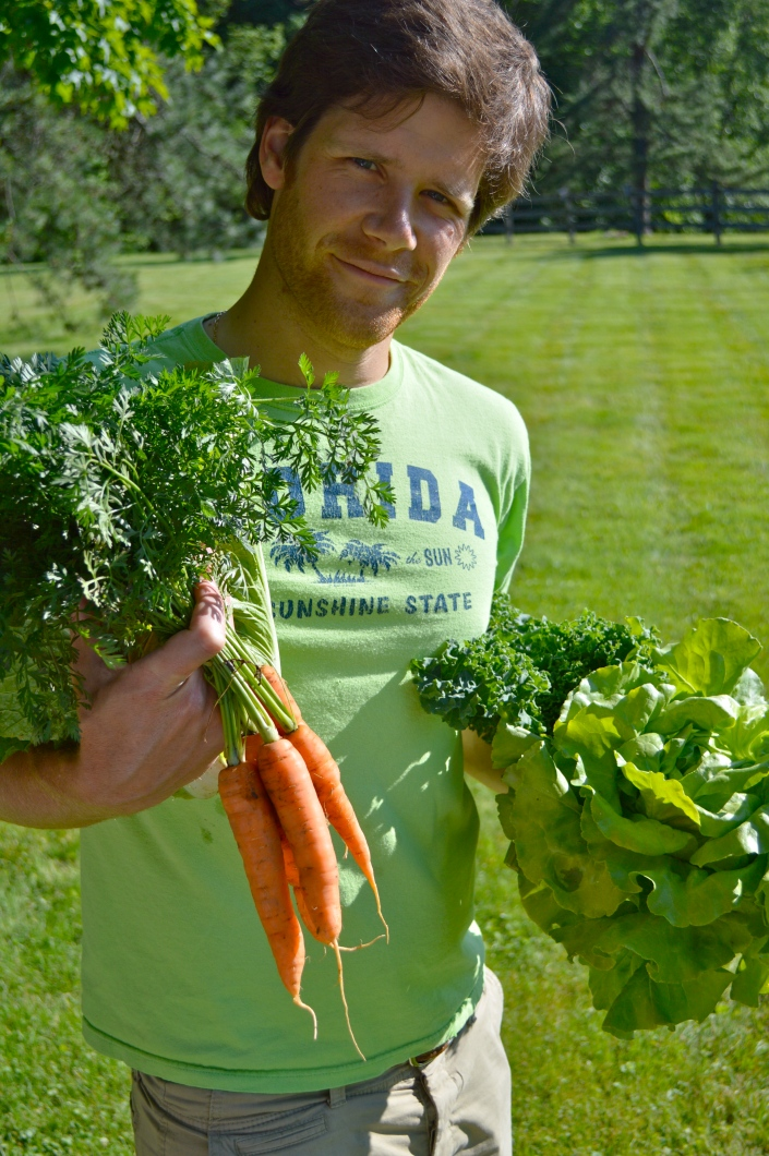 if you're lucky, your CSA farmer will look like this.