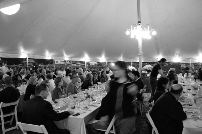 175 guests embracing a night of veganism :)